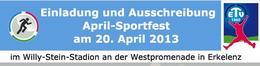 April Sportfest in Erkelenz